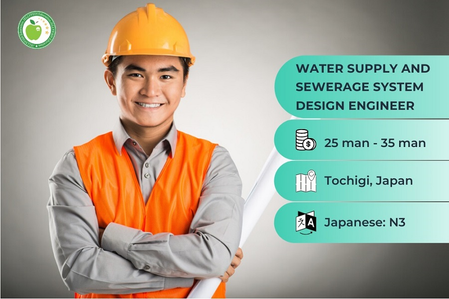 WATER SUPPLY AND SEWERAGE SYSTEM DESIGN ENGINEER