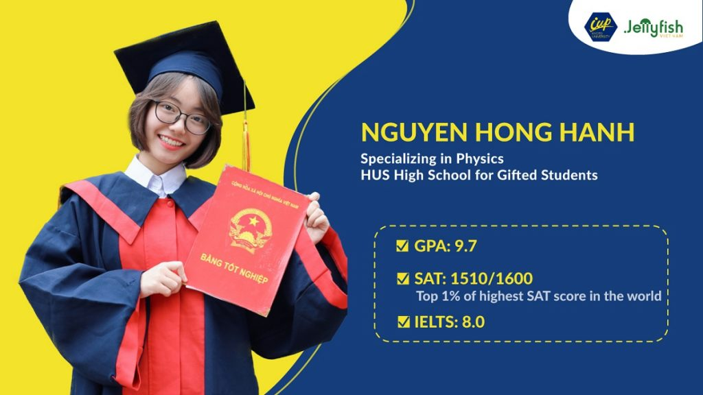 NGUYEN HONG HANH – EXCELLENT FACE WON THE FULL SCHOLARSHIP KYOTO IUP 2021